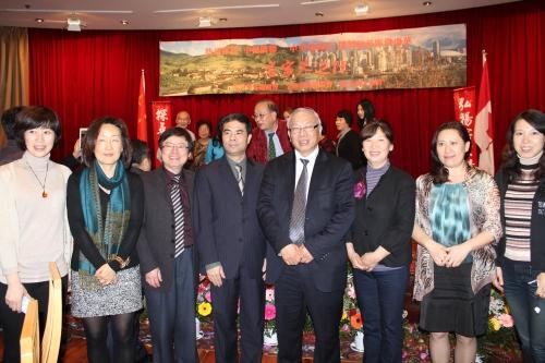 校友会代表参加中央电视台海外华人拍摄活动